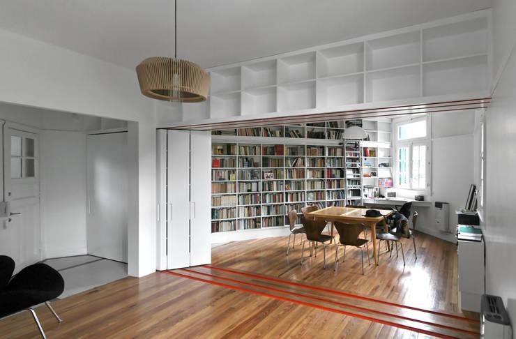 ห้องทำงาน/อ่านหนังสือ by Pop Arq