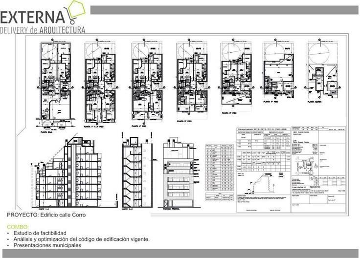 Tramitaciones:  de estilo  por Externa Arquitectura