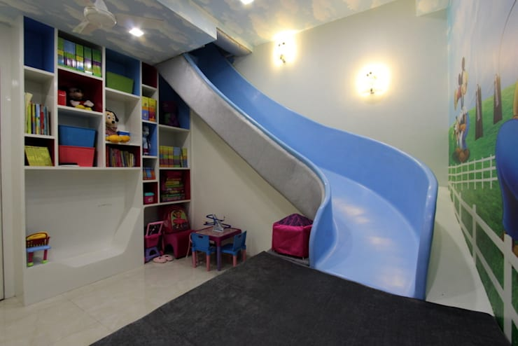Play Room:  Nursery/kid's room by Mind Studio
