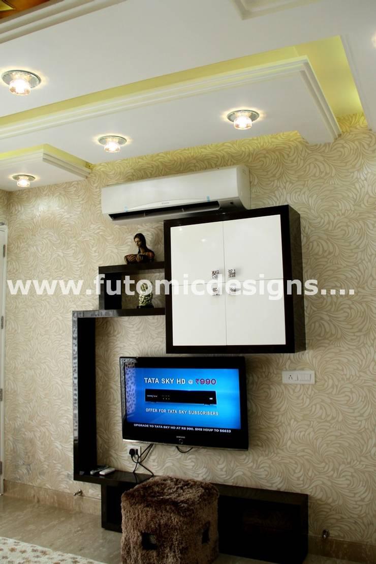 Premium Home Interiors: modern  by Futomic Design Services Pvt. Ltd.,Modern MDF