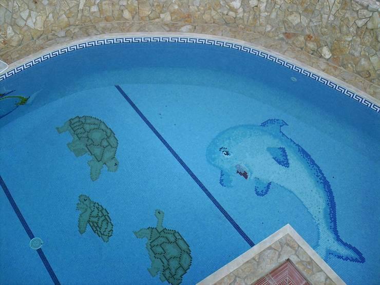 Construção de piscina: Piscinas  por Dreampool