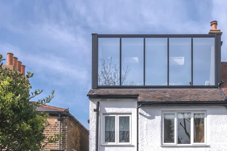 East Dulwich 1:  Houses by Proctor & Co. Architecture Ltd,