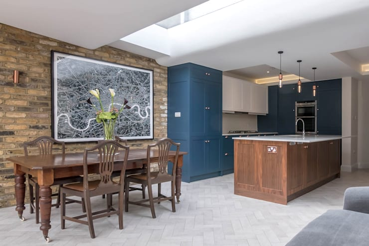 East Dulwich 1:  Kitchen by Proctor & Co. Architecture Ltd,