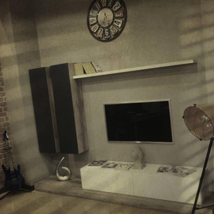 Erdal Demircan İç Tasarım ve Dekorasyon – Erdal Demircan İç Tasarım ve Dekorasyon:  tarz Oturma Odası
