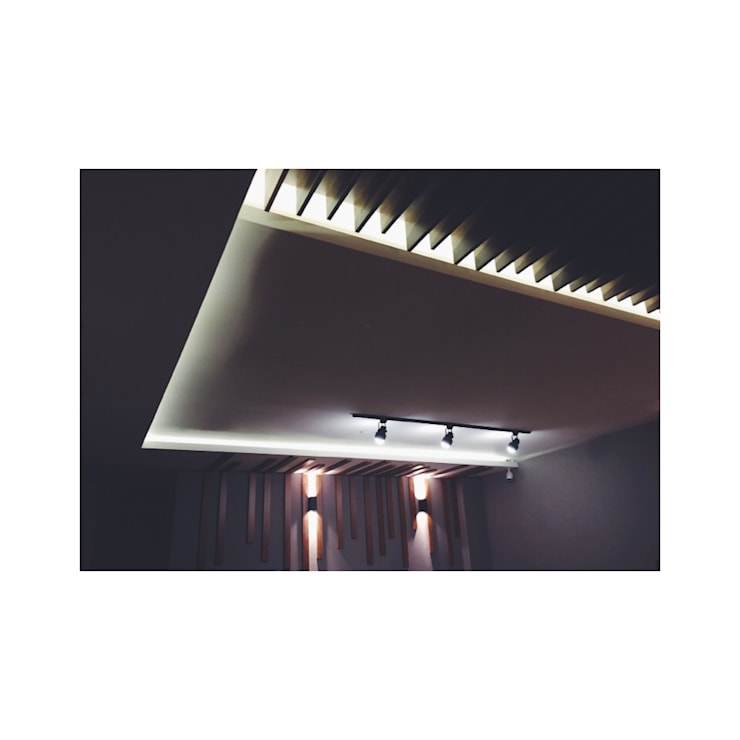 İZARC MİMARLIK – RESTAURANT DESIGN- AHŞAP TAVAN TASARIMI:  tarz Bar & kulüpler, Modern İşlenmiş Ahşap Şeffaf