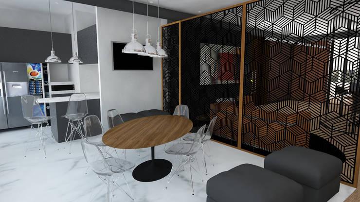 Atmosferas   Projecto de Interiores Paula Gouveia: Escritórios  por  IDesign.art by Paula Gouveia