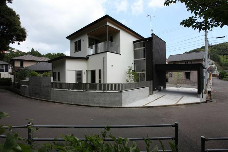 外観: 有限会社 橋本設計室が手掛けた家です。