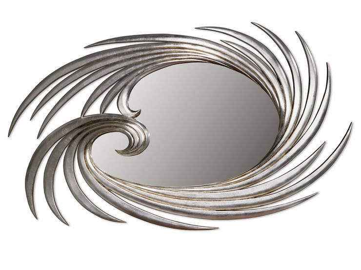 Capri mirror: Corredor, hall e escadas  por Hugobarbosa.com