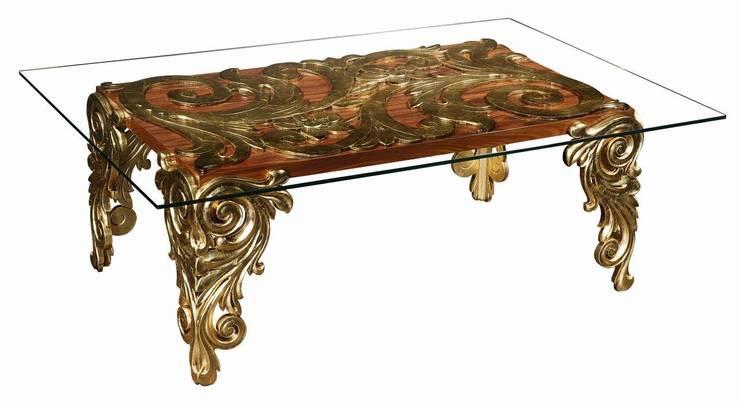 Capri dinning table: Sala de jantar  por Hugobarbosa.com