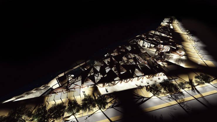 Proyecto de Título Freddy Madrid:  de estilo  por NB Render Arquitectura