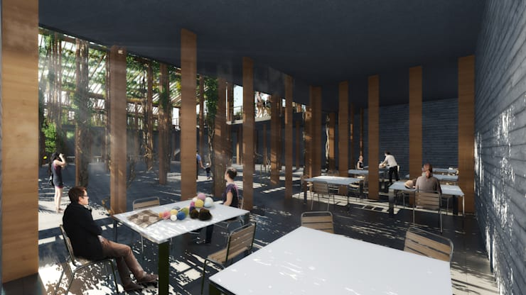 Proyecto de Título Paulina Gonzalez:  de estilo  por NB Render Arquitectura