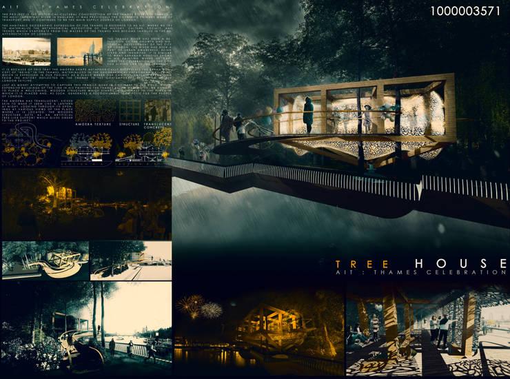 LAMINA CONCURSO:  de estilo  por NB Render Arquitectura