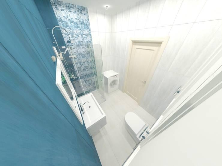 Квартира. Мой только виз (превью): Ванные комнаты в . Автор – Андреева Валентина ,