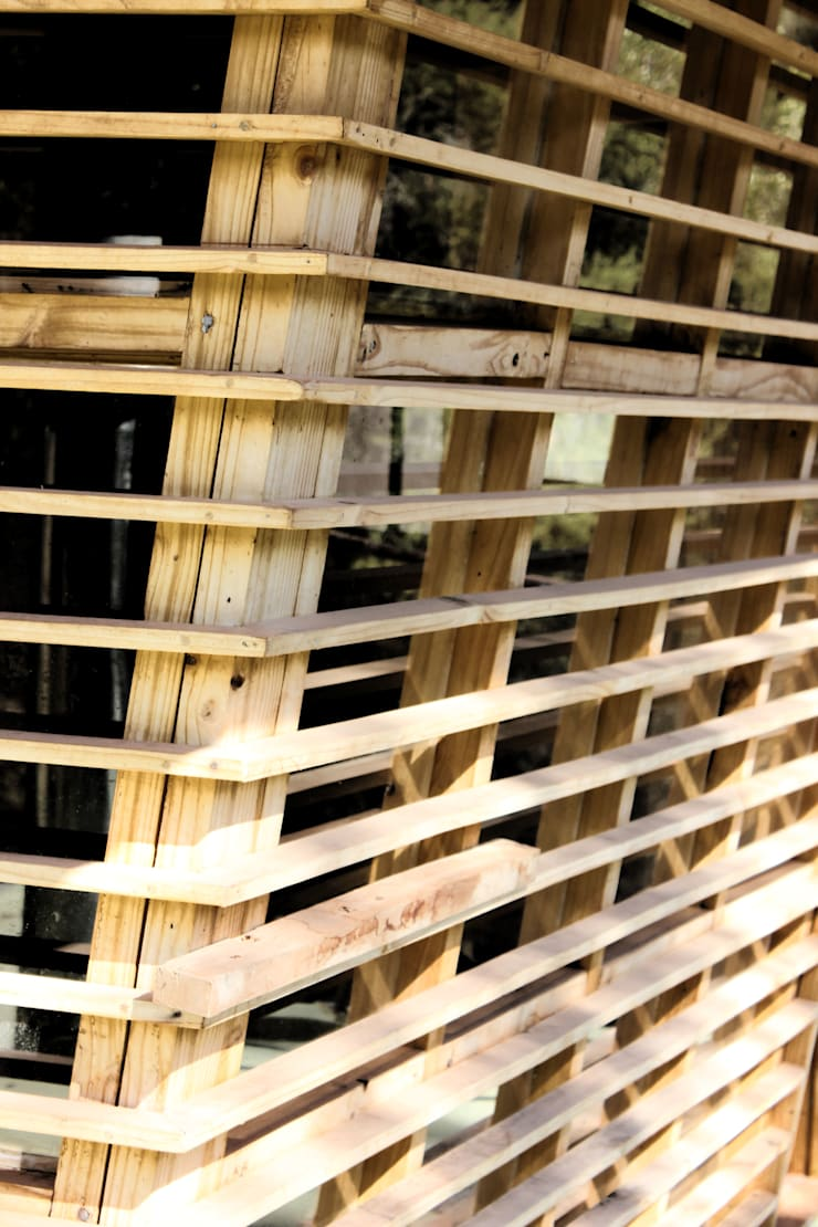 Ventanas de ALIWEN arquitectura & construcción sustentable - Santiago Moderno