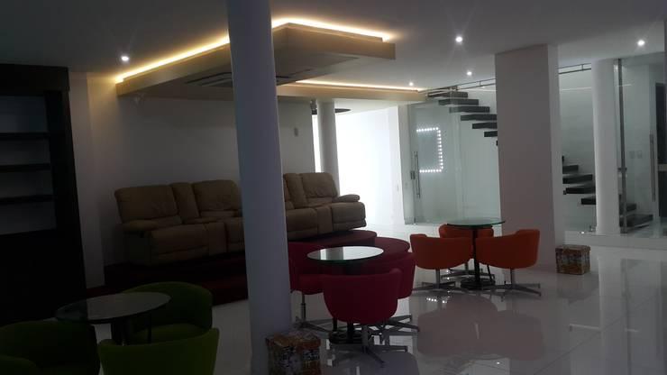 modern Living room by Camilo Pulido Arquitectos