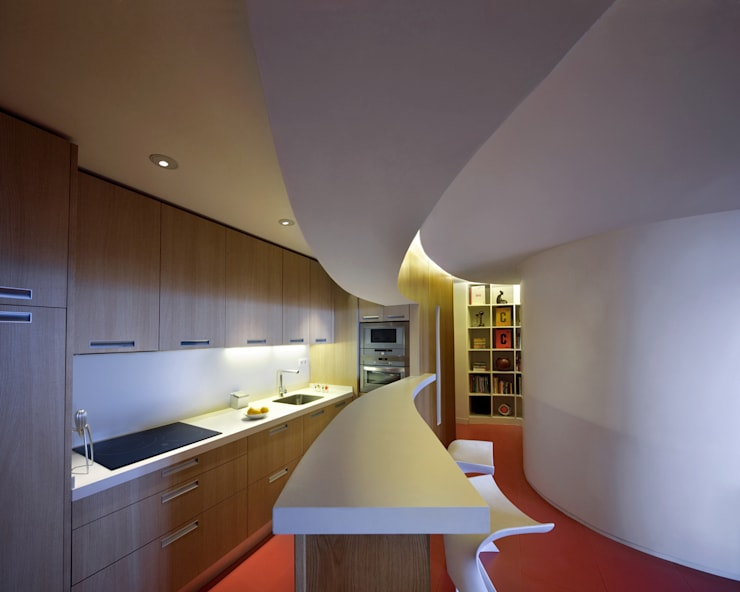 Cocinas de estilo  por Ruiz Velázquez