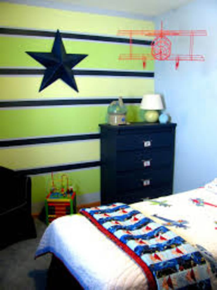 Interior painting:  Nursery/kid's room by Abdul Bros