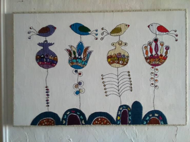 """Настенное панно """"Цветы"""": Произведения искусства в . Автор – tanya zaichenko"""