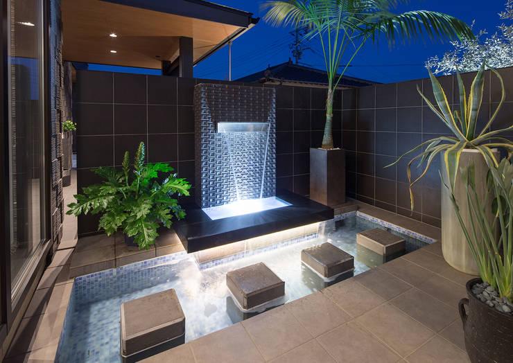 Terraços  por 一級建築士事務所  馬場建築設計事務所