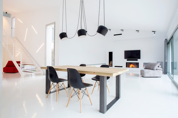Living room by CABRÉ I DÍAZ ARQUITECTES