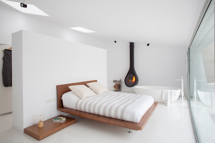 Bedroom by CABRÉ I DÍAZ ARQUITECTES