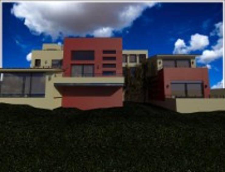 Rancho San Juan Zona Esmeralda: Casas de estilo  por CESAR MONCADA S