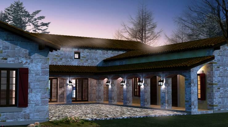 Plano Mimarlık ve Teknoloji – Bağyüzü Taş Ev:  tarz Evler