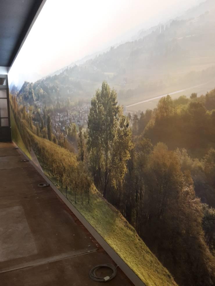 Museo del vino: Negozi & Locali Commerciali in stile  di artesa srl