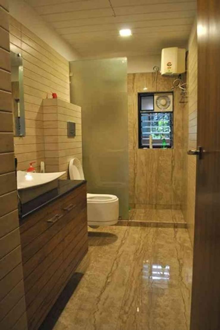 Vikas singh apartment :  Bathroom by Arturo Interiors