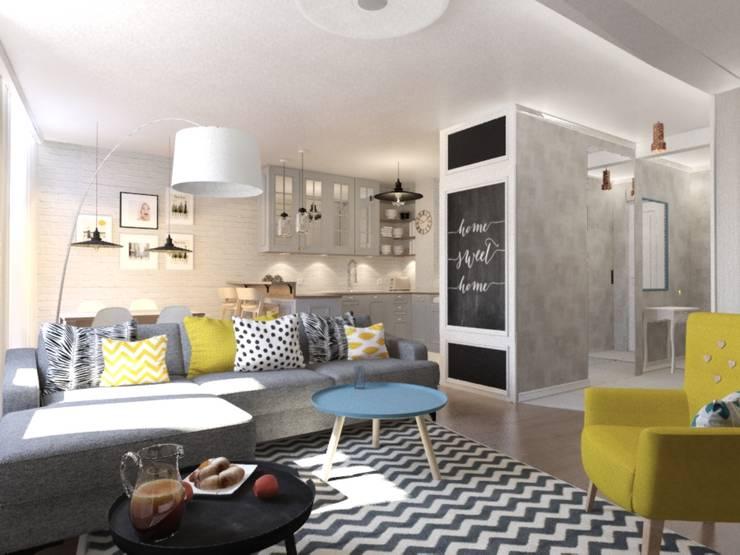 Jankowska Design의  거실