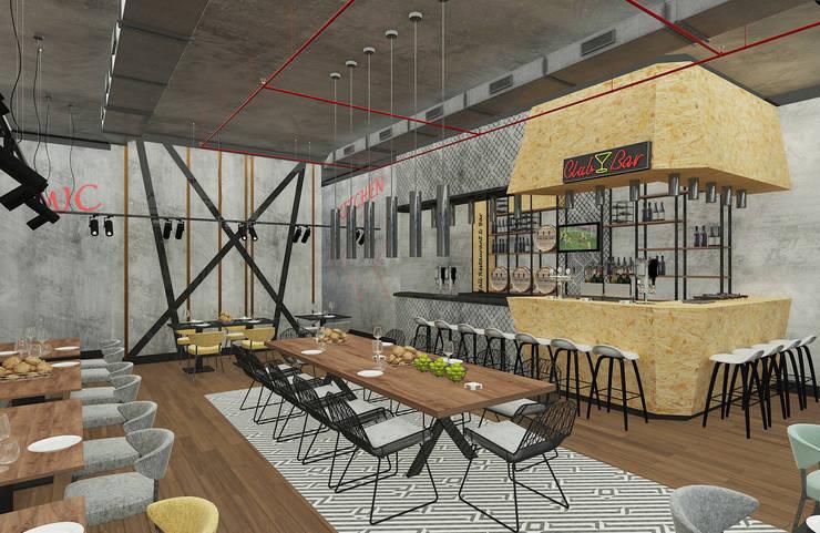 """Baki & Başaran İç Mimarlık – Hall Restaurant & Bar // Konsept Tasarım: {:asian=>""""Asya"""", :classic=>""""klasik"""", :colonial=>""""sömürge"""", :country=>""""kırsal tarz"""", :eclectic=>""""eklektik"""", :industrial=>""""Sanayi"""", :mediterranean=>""""Akdeniz"""", :minimalist=>""""minimalist"""", :modern=>""""modern"""", :rustic=>""""rustik"""", :scandinavian=>""""İskandinav"""", :tropical=>""""tropikal""""} tarz ,"""