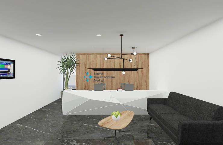 Baki & Başaran İç Mimarlık – SBM Ofis // Konsept Tasarım:  tarz Ofis Alanları