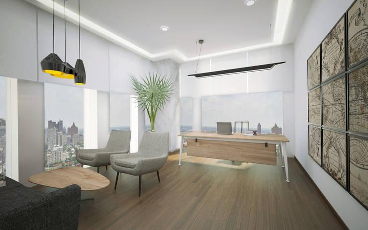 Baki & Başaran İç Mimarlık – AND Ofis // Konsept Tasarım:  tarz Ofis Alanları