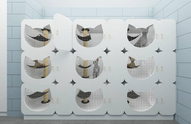 Moderne Praxen von Baki & Başaran İç Mimarlık Modern