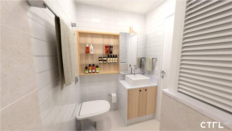 Baños de estilo  por CTRL | arquitetura e design