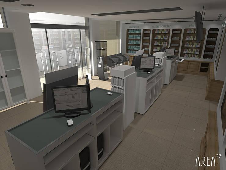 Remodelação Farmácia: Espaços comerciais  por area27