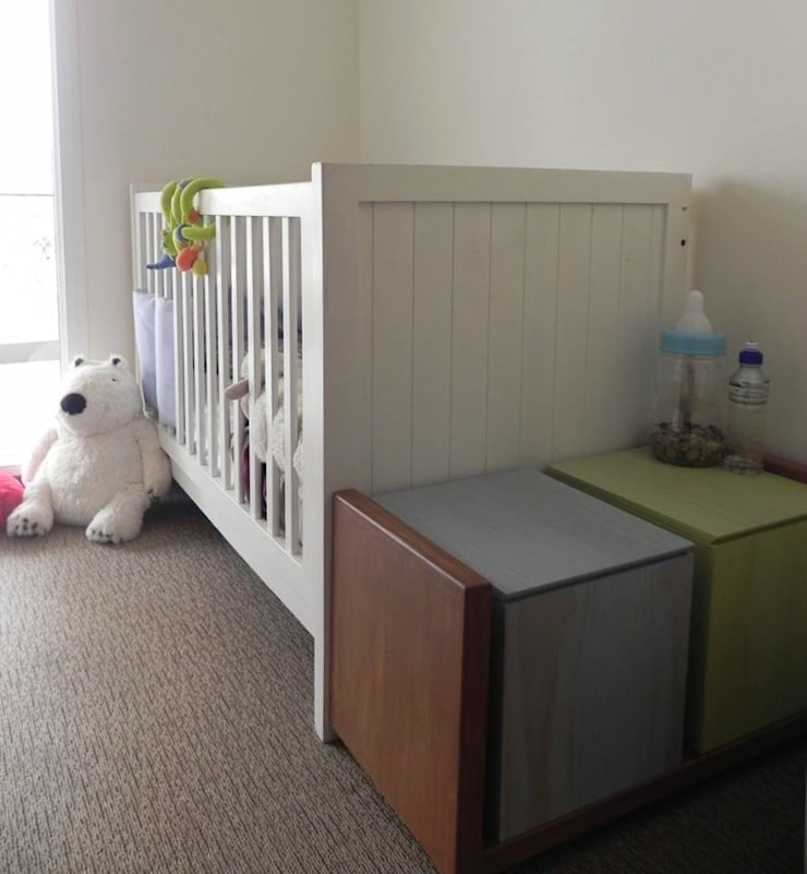 Proyecto General Ludwig: Dormitorios infantiles de estilo  por Más Identidad Diseño