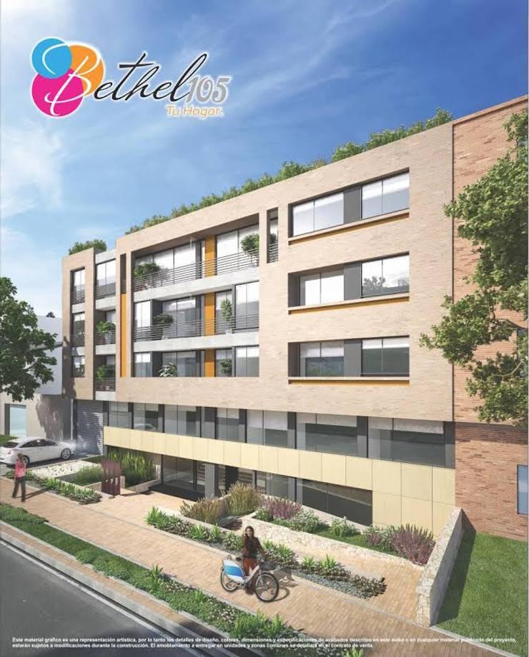 Baumeister: Casas de estilo  por PROYECTO BAUMEISTER,