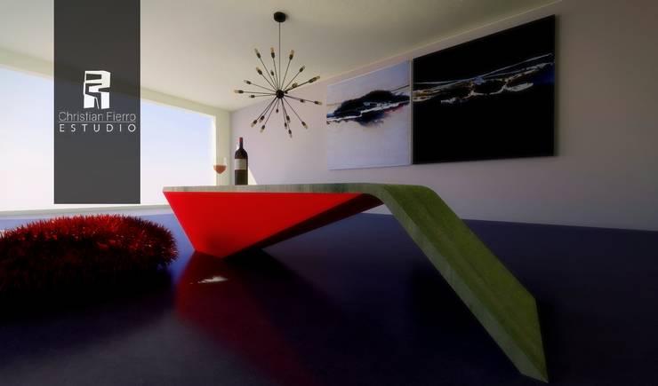 Mobiliario : Comedores de estilo  por Christian Fierro Arquitecto