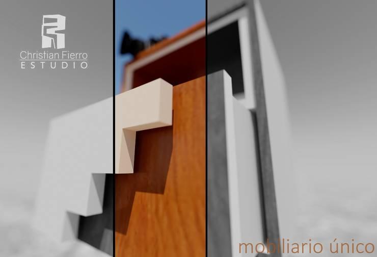 Christian Fierro Arquitectoが手掛けたリビングルーム