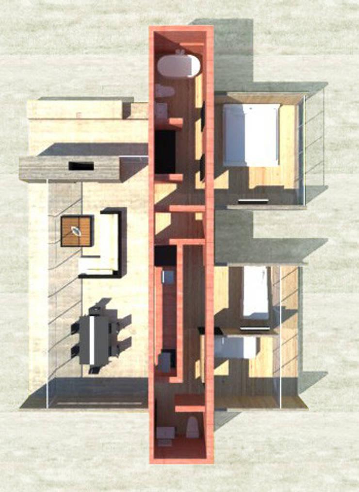 Casa 0:  de estilo  por Voavista