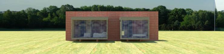 Casa 0: Casas de estilo  por Voavista