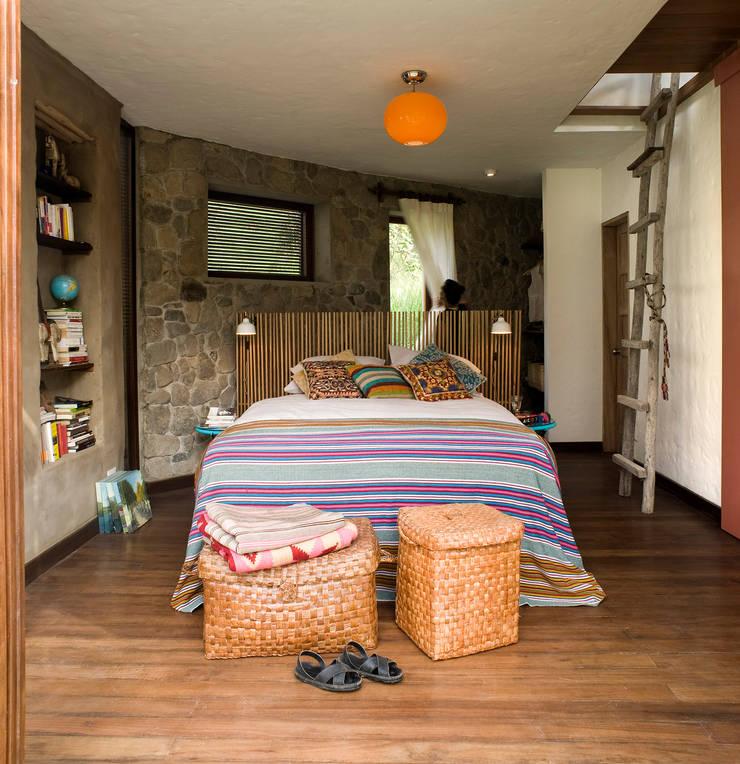 Casa Chontay Dormitorios de estilo moderno de Marina Vella Arquitectura Moderno