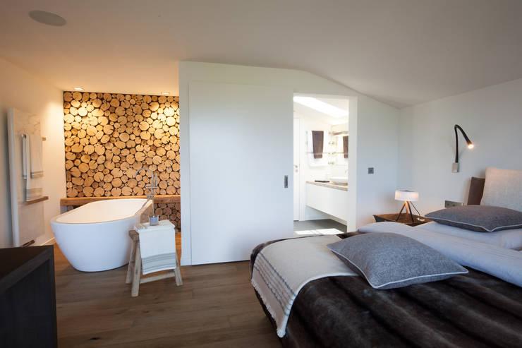eclectische Slaapkamer door Catharina Baratta ARCHITEXTURE
