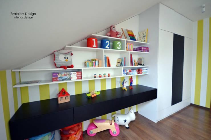 Pokój dziecięcy: styl , w kategorii Pokój dziecięcy zaprojektowany przez Szalbierz Design