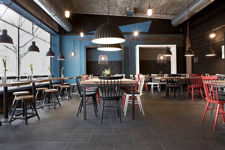 Restaurant Interieur Design.Burger Restaurant By Studio Uwe Gaertner Interior Design