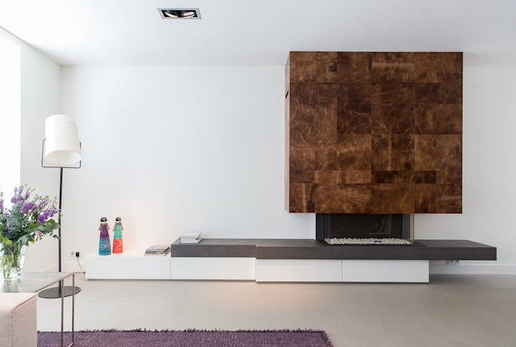 Living room by B-TOO, Minimalist