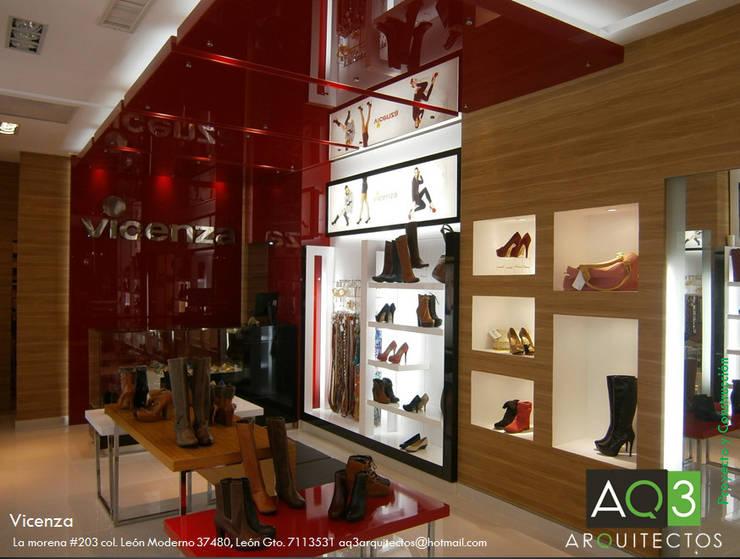 Vicenza: Oficinas y tiendas de estilo  por AQ3 Arquitectos