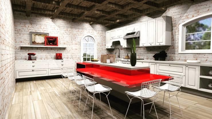 Dapur by MV Arquitetura e Design