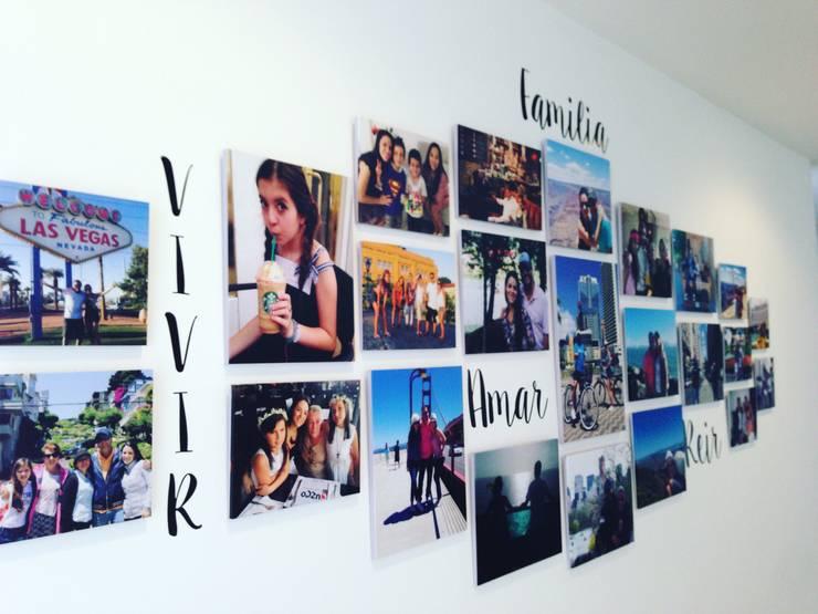 Paredes de estilo  por Cuarto de Luz: fotografía y decoración